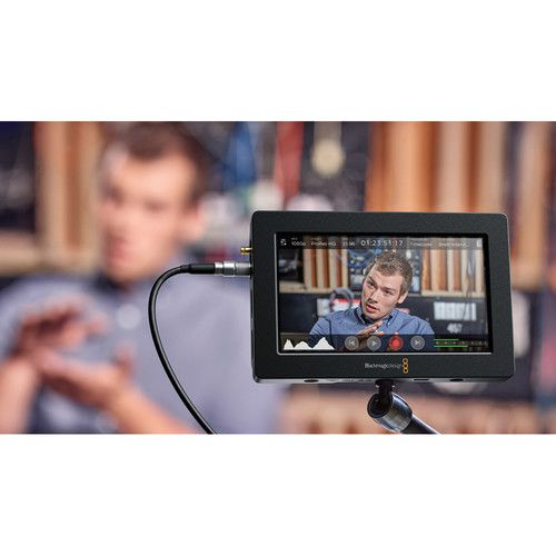 Monitor Blackmagic Design Video Assist Gravador HDMI / 6G-SDI com 5""