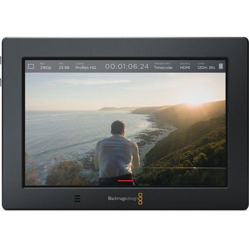 """Monitor de Gravação Video Assist 4K Blackmagic Design 7"""" HDMI/6G-SDI"""