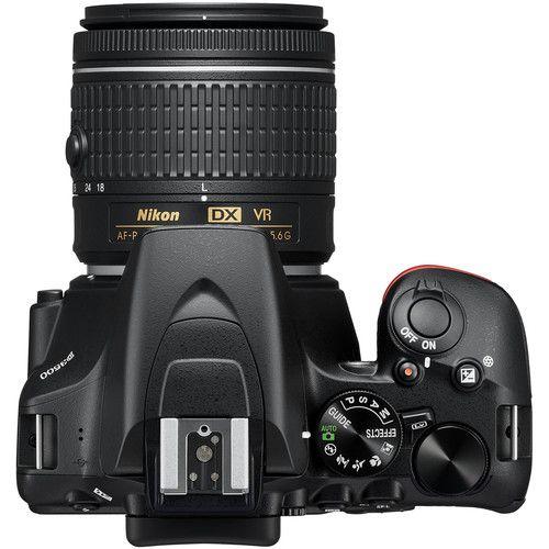 Câmera Nikon D3500 DSLR c/ Lente 18-55mm