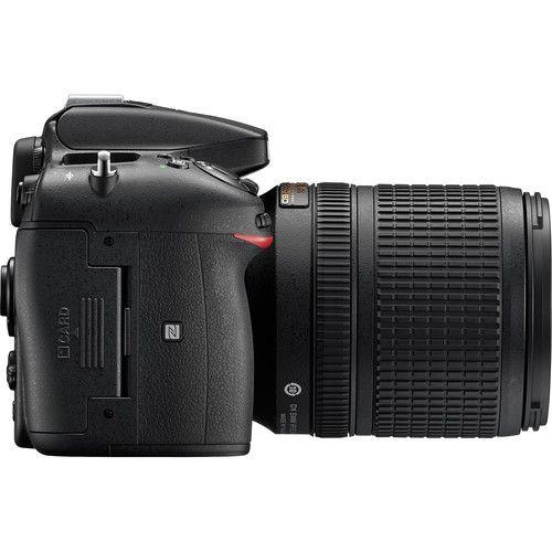Câmera Nikon D7200 DSLR c/ Lente 18-140mm