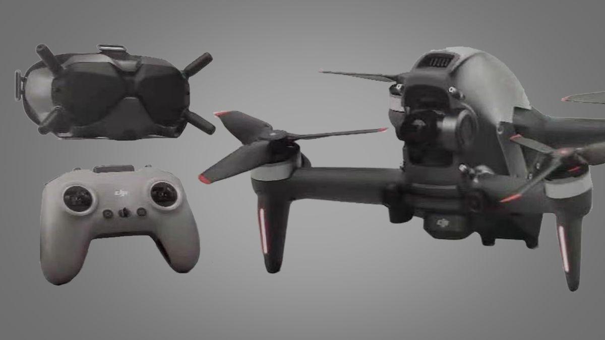 Novo Drone Dji Fpv Combo Kit Óculos