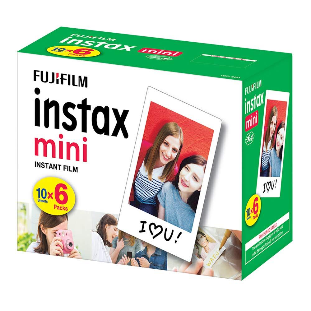 Pacote com 60 poses para Instax Mini