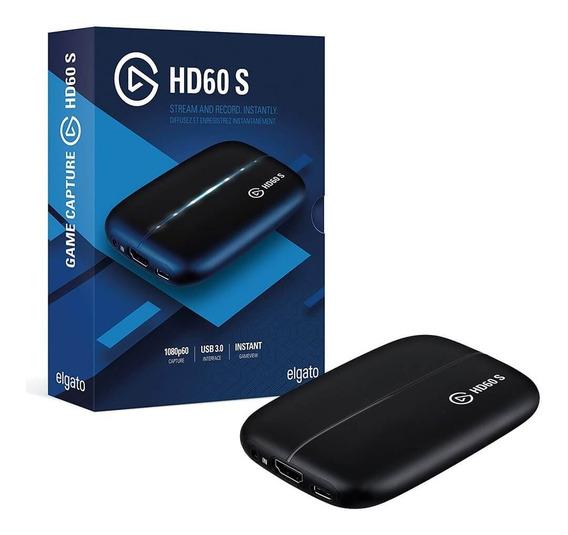 Placa de Captura Externa Portátil Elgato HD60 S+