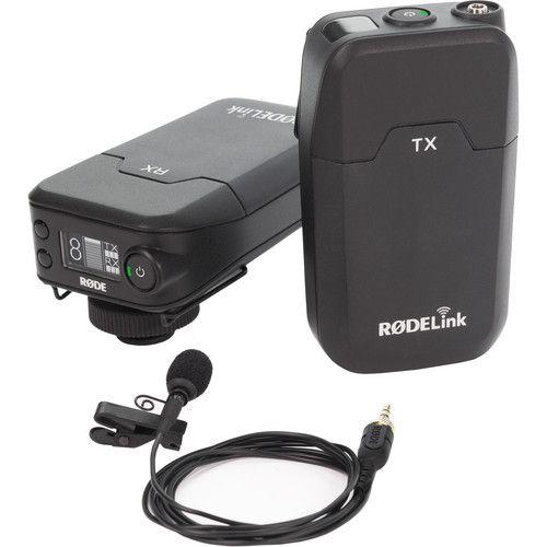 Sistema de microfone RODE de lapela sem fio RODE Link