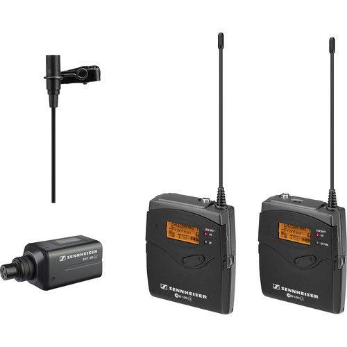 Sistema de Microfone Sennheiser ew 110 de Montagem na Câmera G3