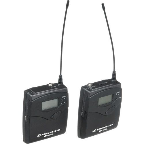 Sistema de Microfone Sennheiser ew 100 de Montagem na Câmera G3