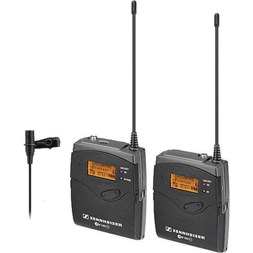 Sistema de Microfone Sennheiser ew 112-p  de Montagem na Câmera G3