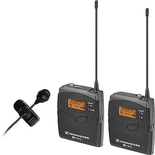 Sistema de Microfone Sennheiser ew 122 de Montagem na Câmera G3
