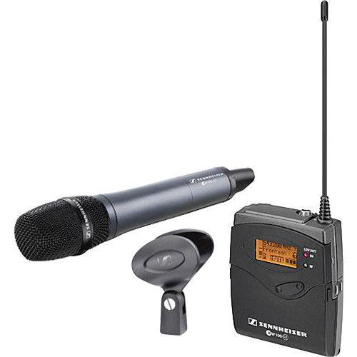 Sistema de Microfone Sennheiser ew 135-p de Montagem na Câmera G3