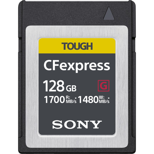 Sony 128 GB CFexpress Type B TOUGH Memory Card