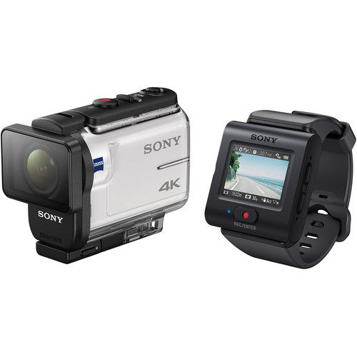 Sony FDR X3000R 4K c/ Controle Remoto