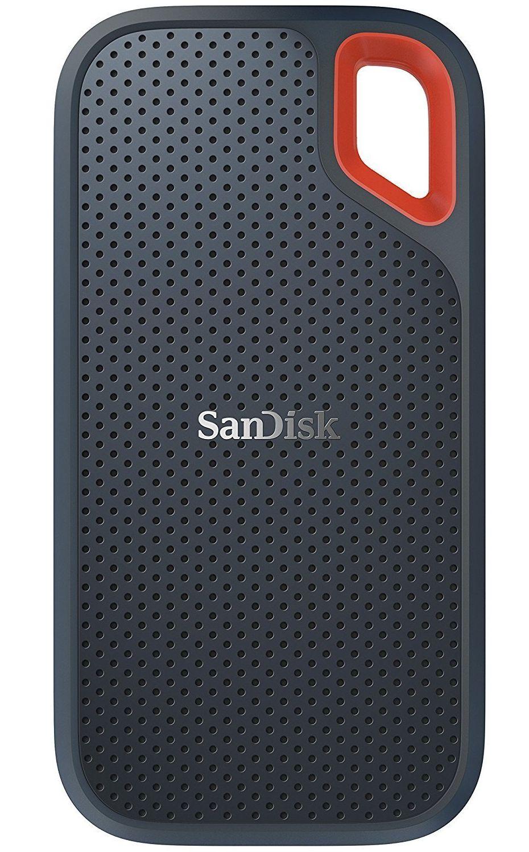SSD Externo Portátil Sandisk, 500GB, Leitura 550MB/s