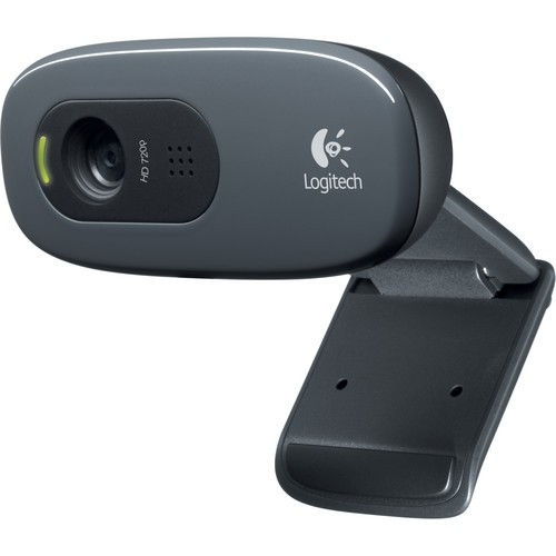 Webcam Logitech C270 HD (preto)
