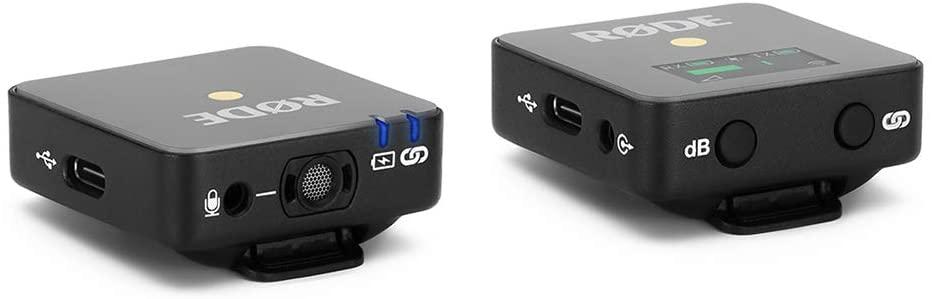 WIRELESS GO II microfone compacto profissional duplo qualidade Rode