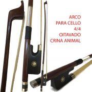 Arco Para Cello - Crina Animal - Oitavado