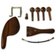 Kit De Acessórios Para Violino Em Rosewood Simples