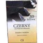Método - 30 Estudos - Órgão - Czerny - Ana Mary De Cervantes