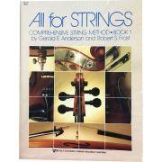 Método - All For Strings - Cello - Volume 1