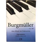 Método - Órgão - Burgmuller - Ana Mary De Cervantes