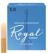 Palheta Para Sax Soprano - Rico Royal