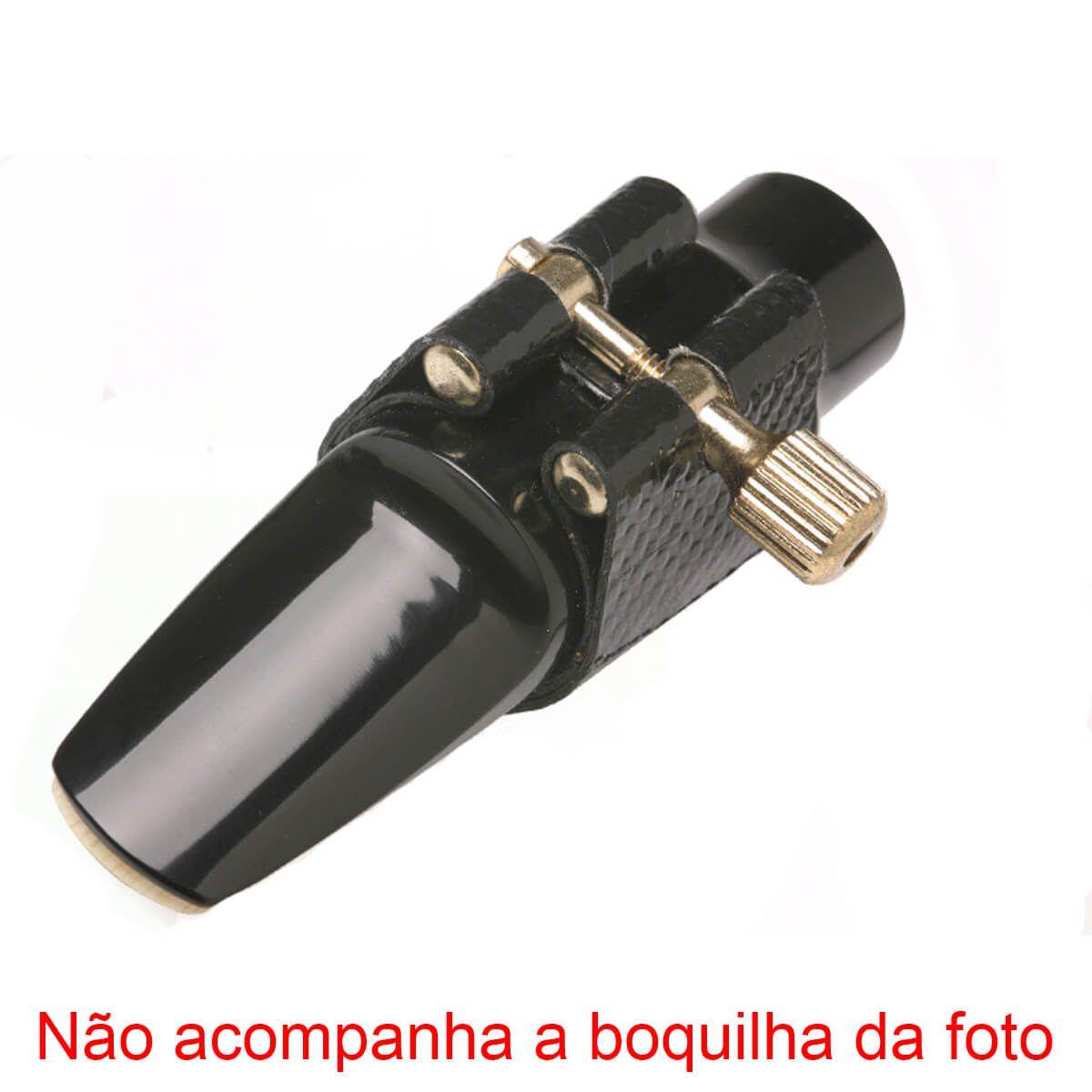 Abraçadeira De Couro - Free Sax