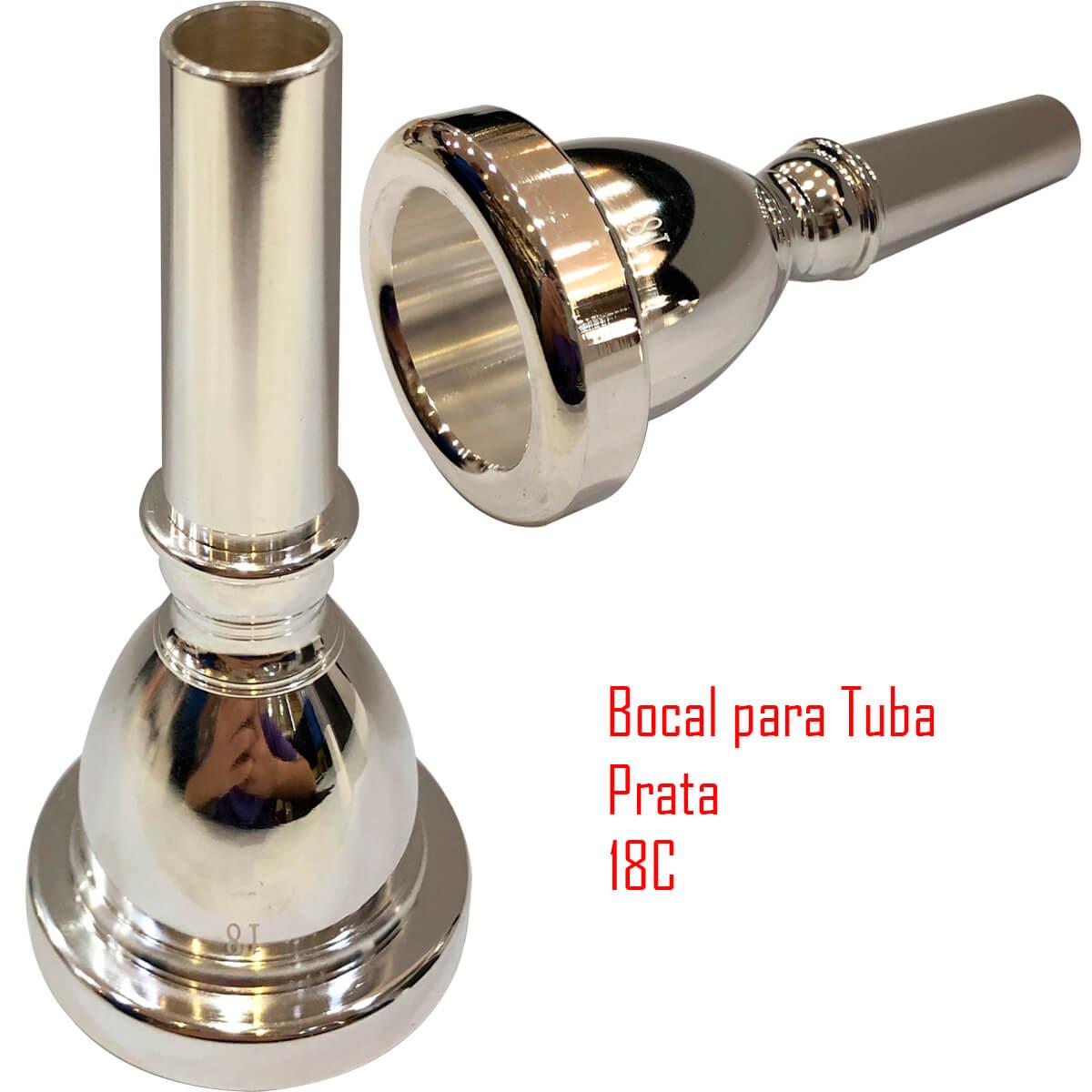 Bocal Para Tuba - 18 - Dolphin
