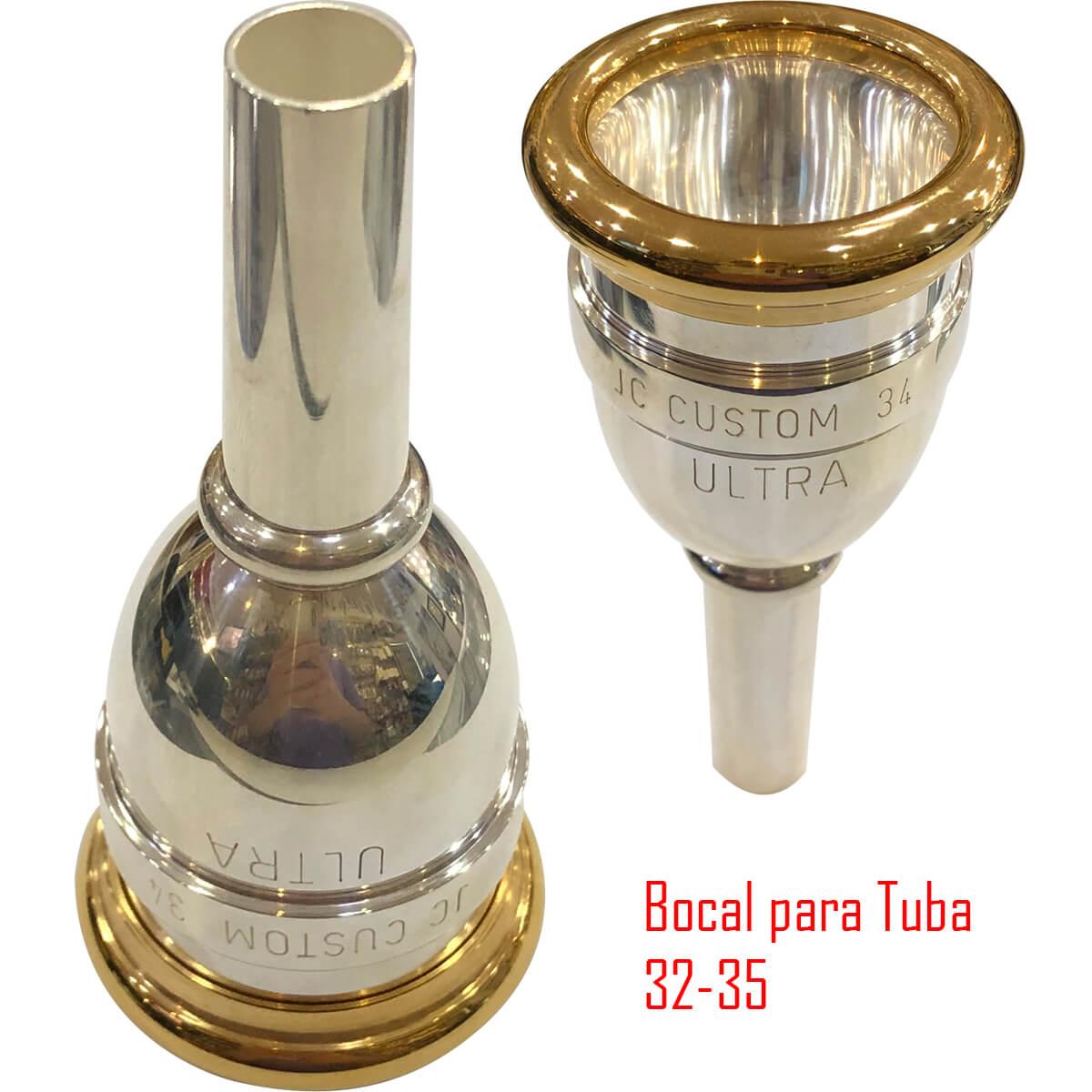 Bocal Para Tuba - Ultra - Jc Custom
