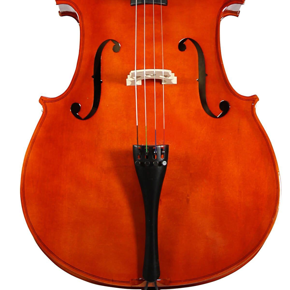 Cello Jahnke - Completo Com Capa E Arco