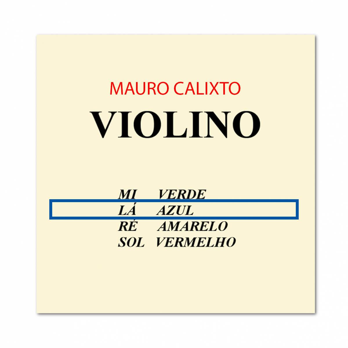 Encordoamento Para Violino - Mauro Calixto