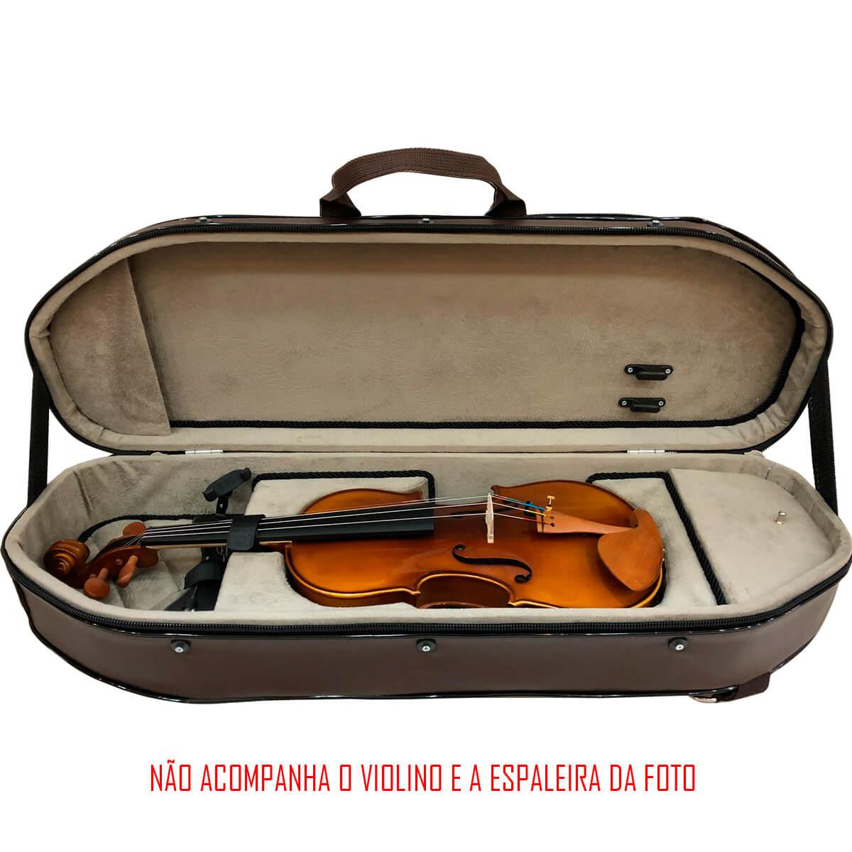 Estojo Para Violino - Meia Lua