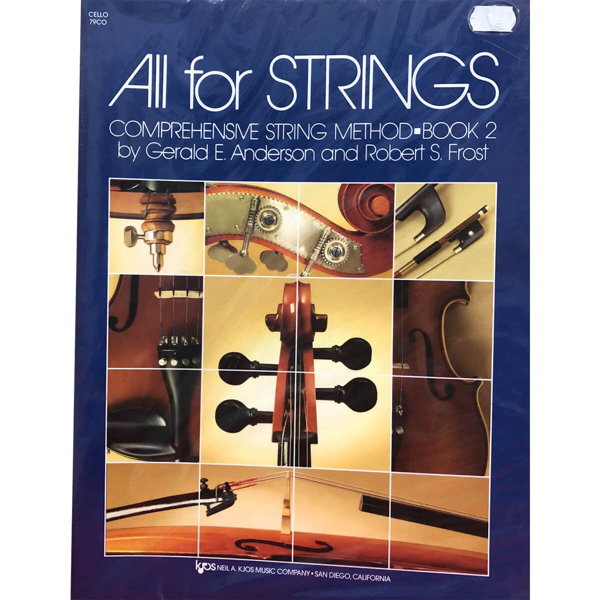 Método - All For Strings - Cello - Volume 2
