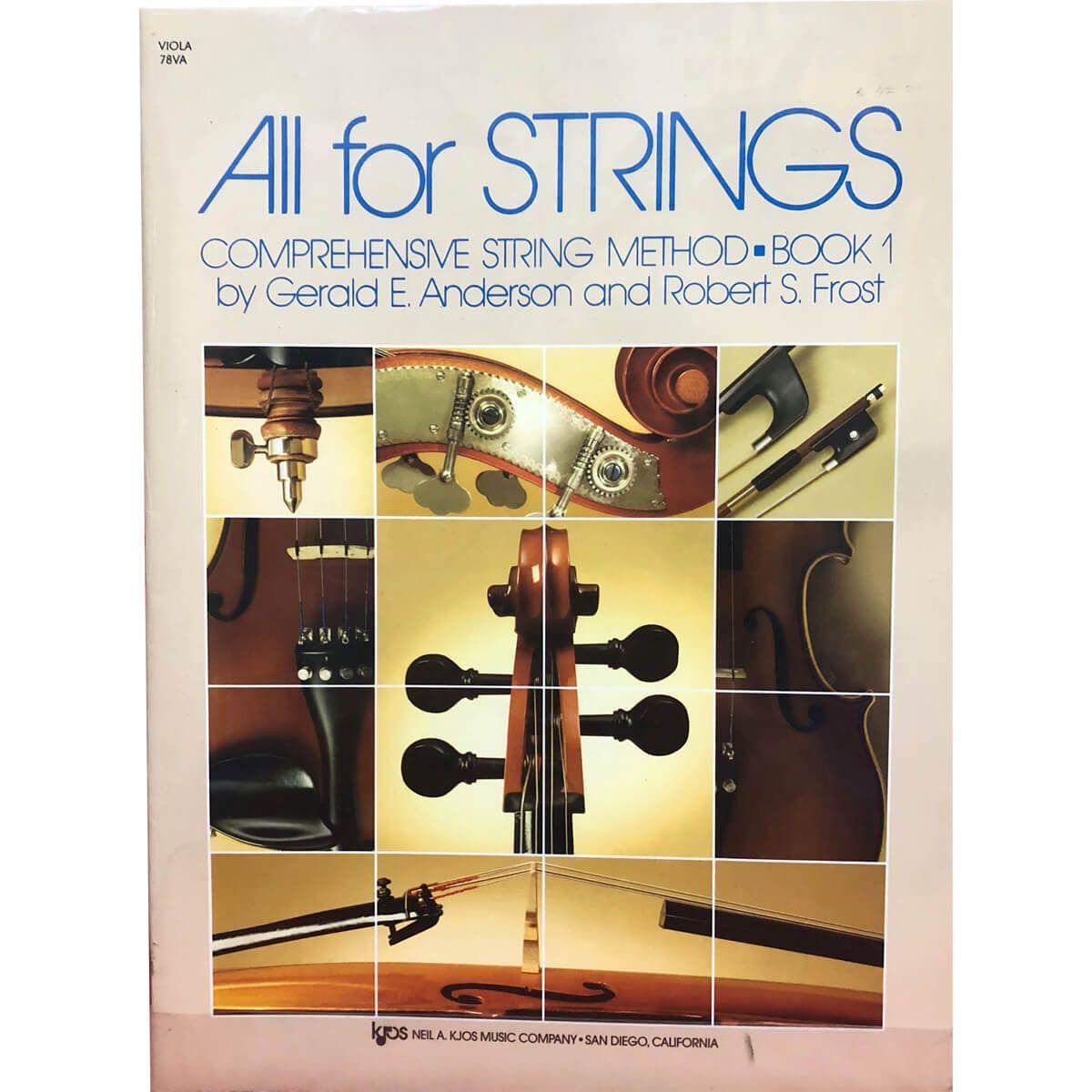 Método - All For Strings - Viola - Volume 1