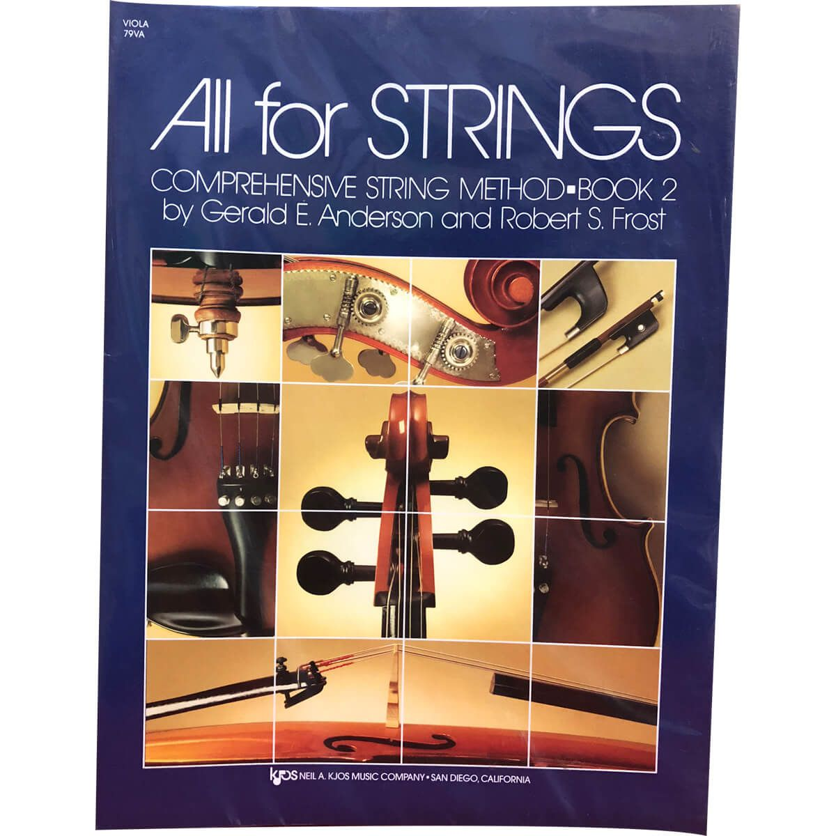 Método - All For Strings - Viola - Volume 2