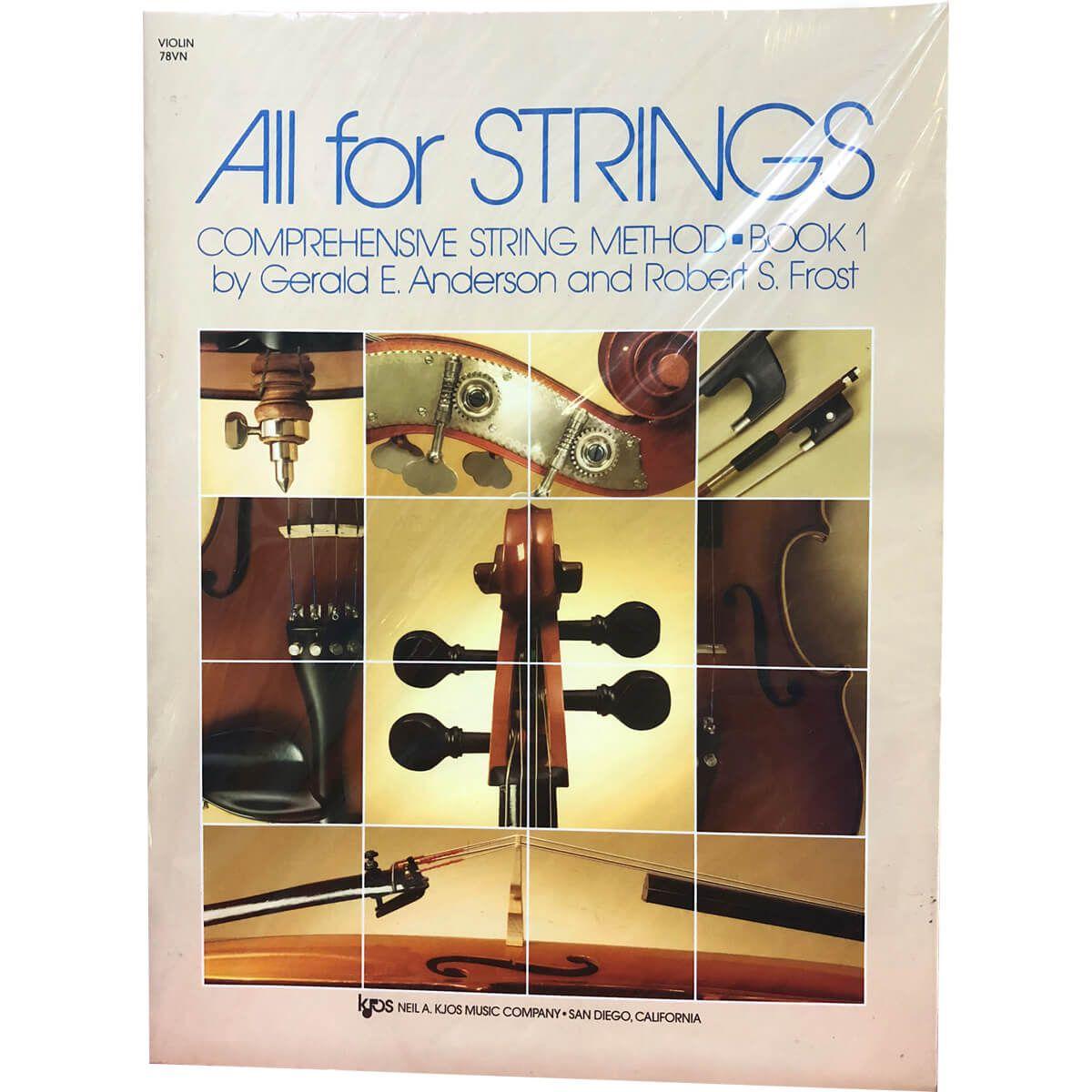 Método - All For Strings - Violino - Volume 1