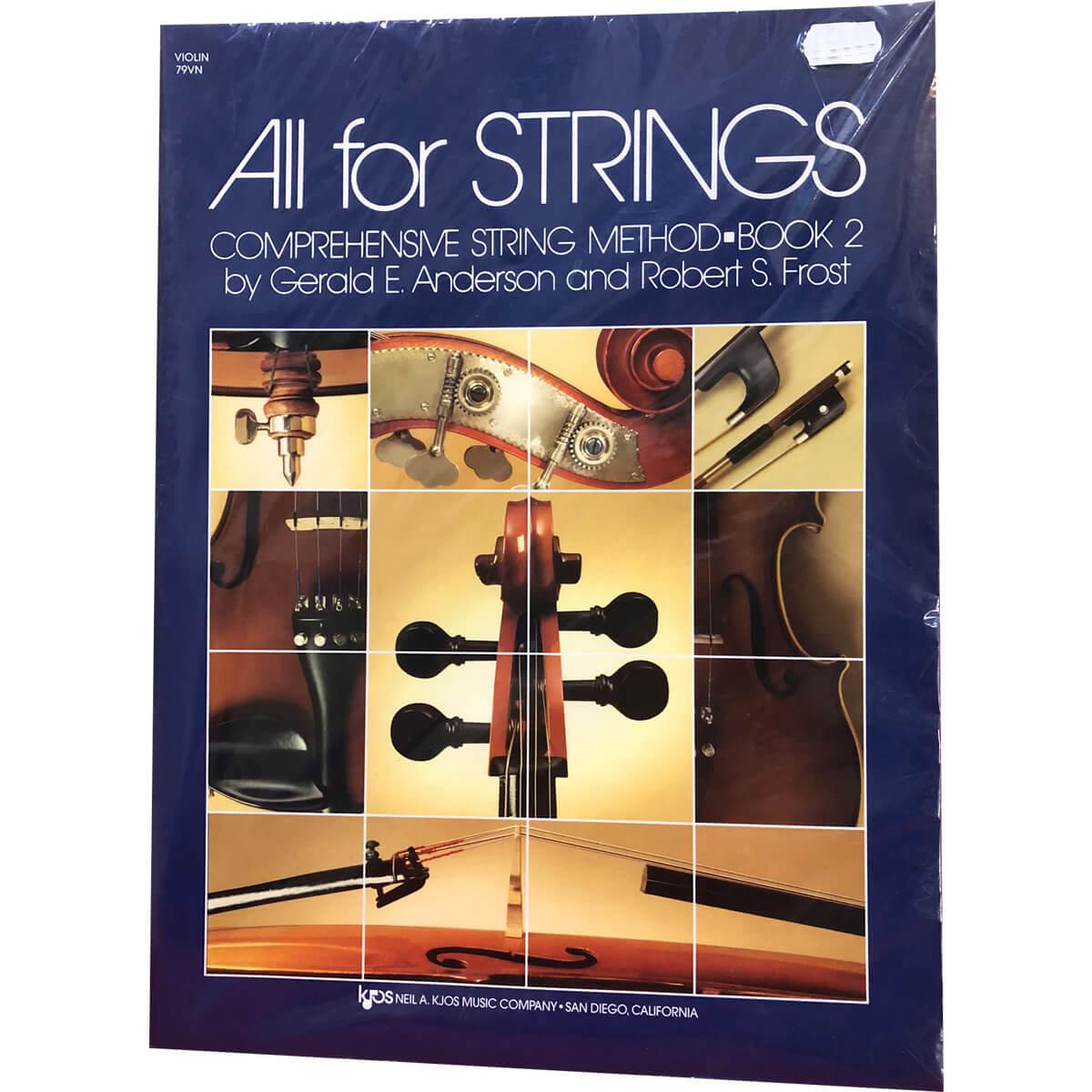 Método - All For Strings - Violino - Volume 2