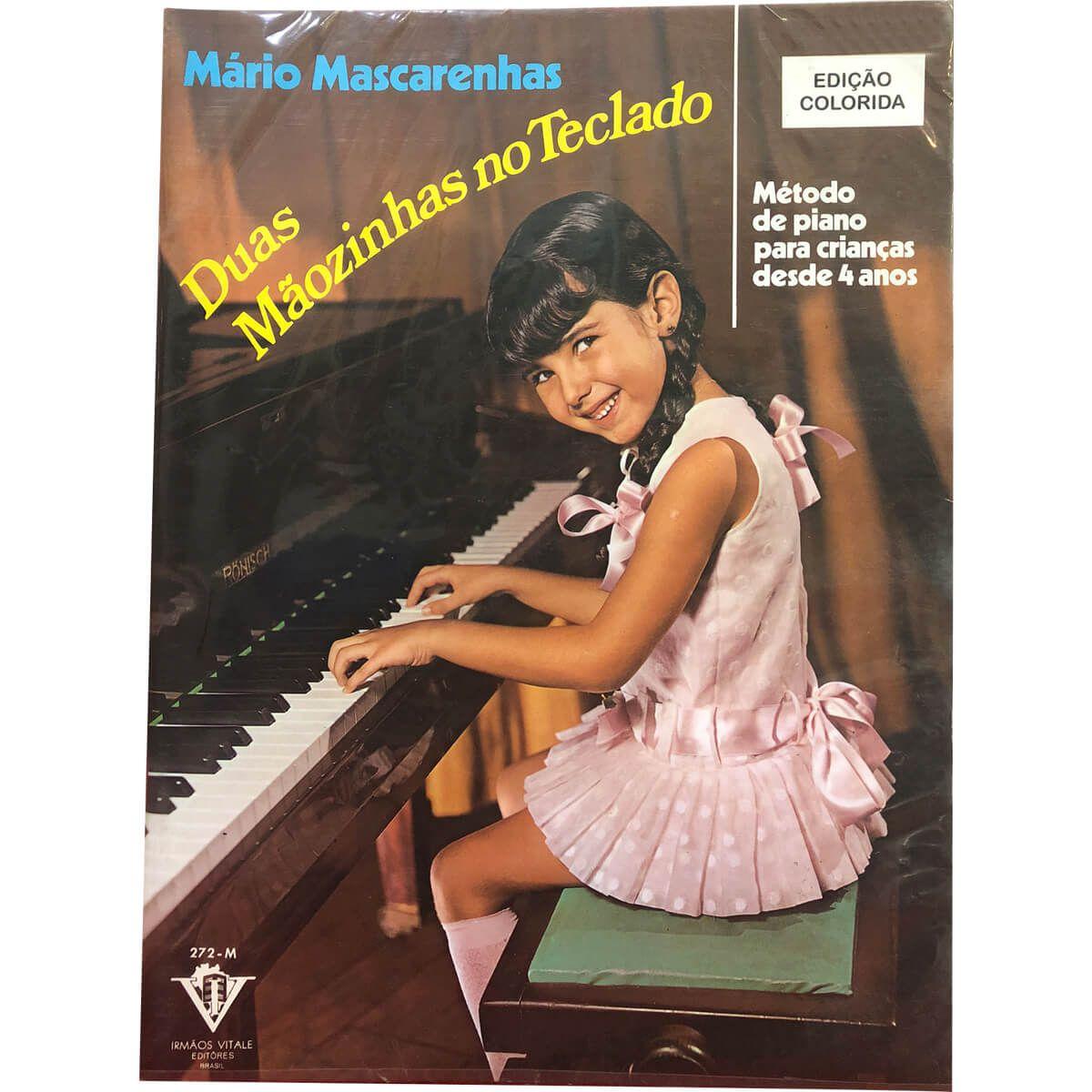 Método - Duas Mãozinhas No Teclado - Piano - Mário Mascarenhas