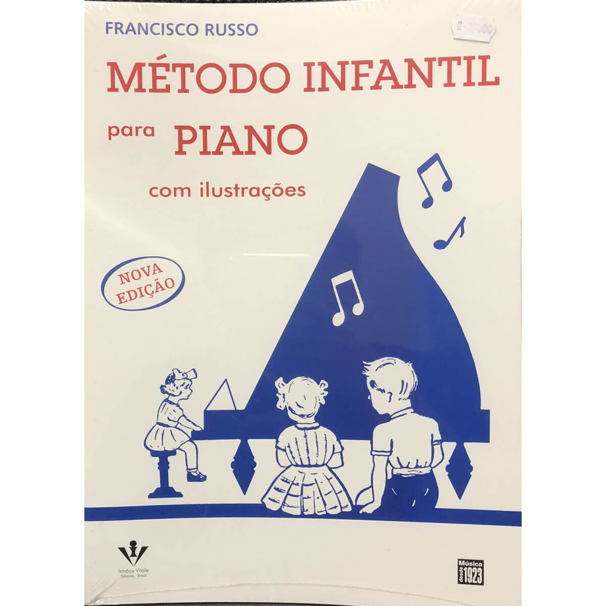 Método - Infantil - Piano - Francisco Russo