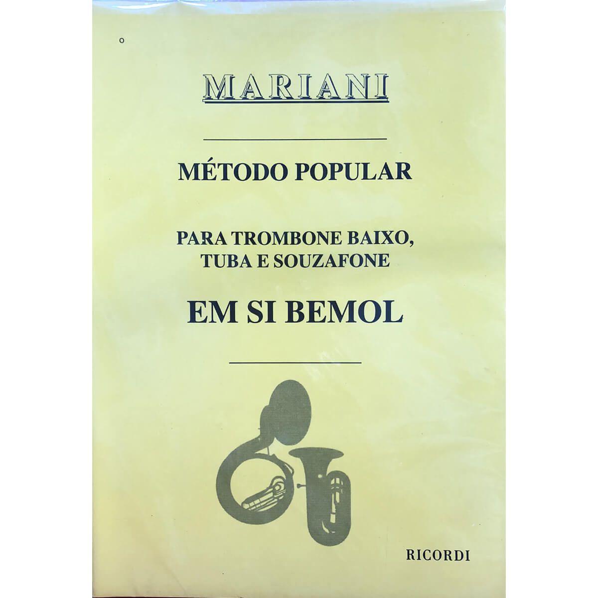 Método - Mariani - Tuba E Bombardino