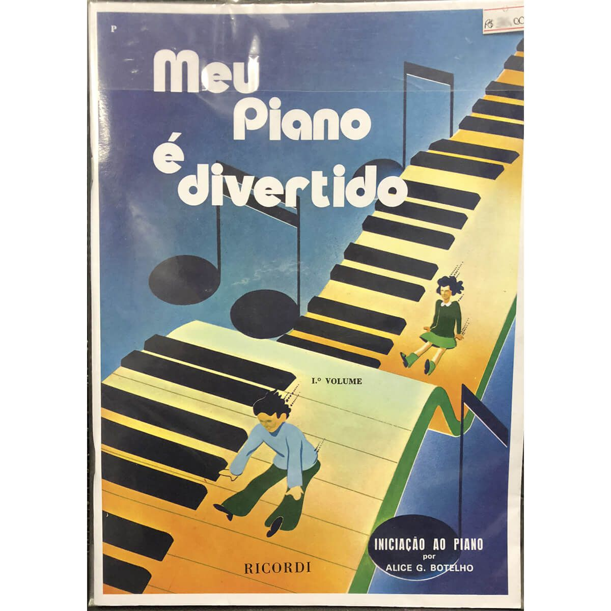 Método - Meu Piano É Divertido - Volume 1