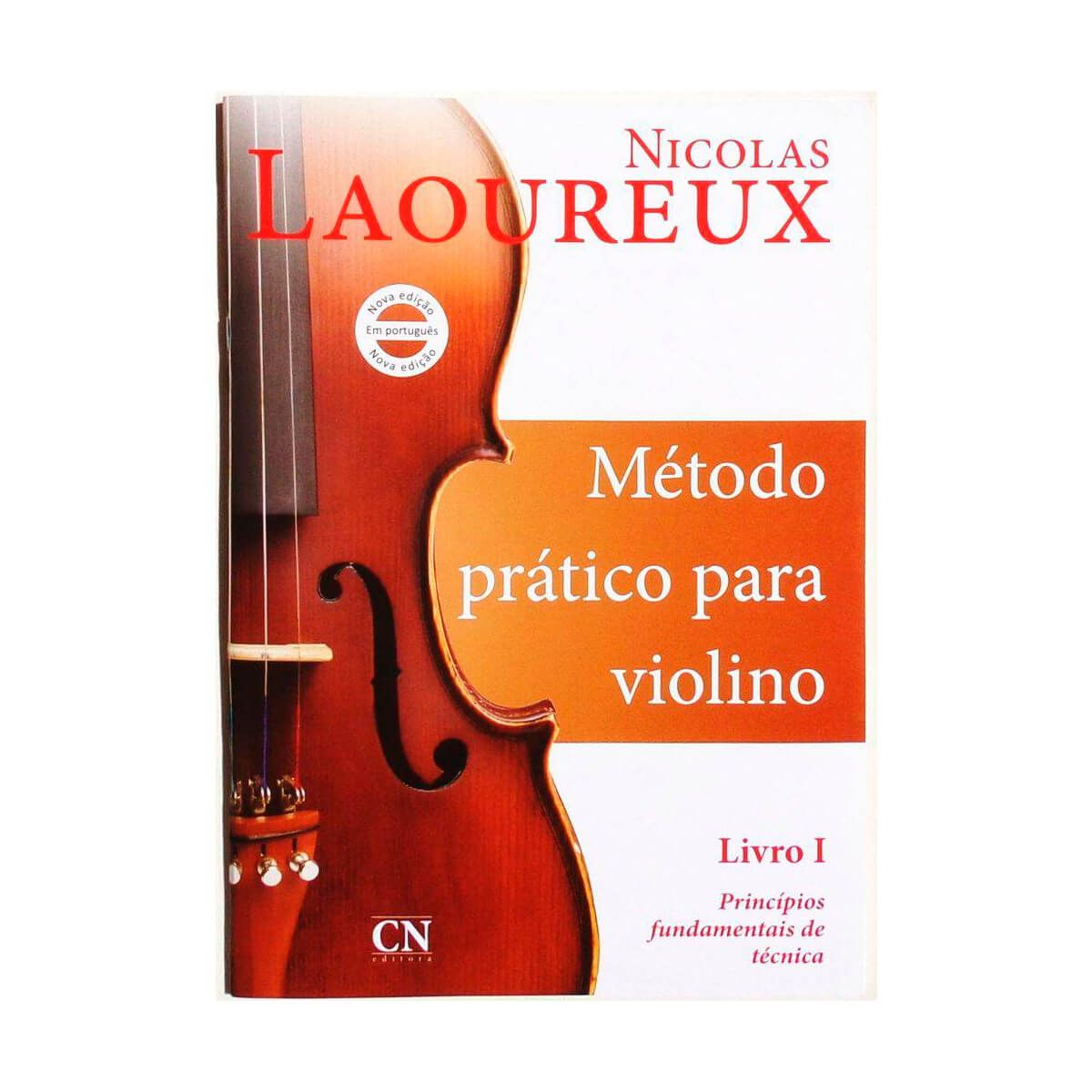 Método - Nicolas Laoureux - Violino - Volume 1