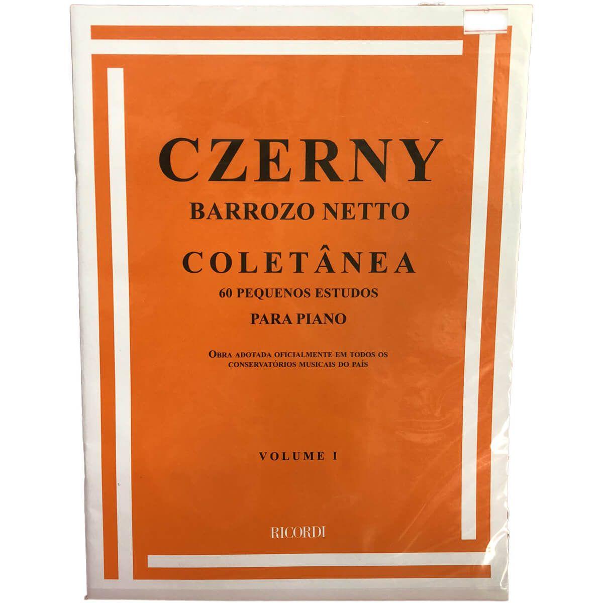 Método - Piano - Czerny - Barrozo Netto