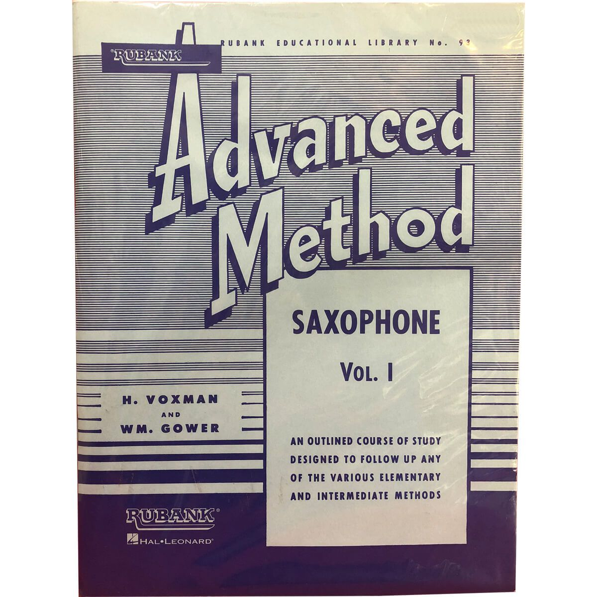 Método - Rubank - Advanced - Saxofone