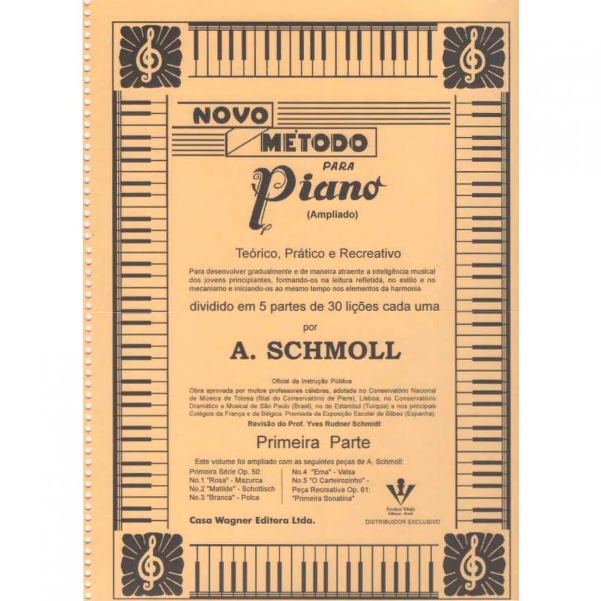 Método - Schmoll - Piano - Primeira Parte