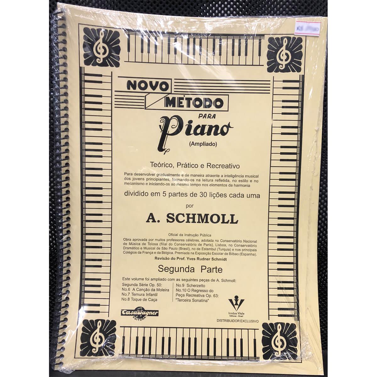 Método - Schmoll - Piano - Segunda Parte