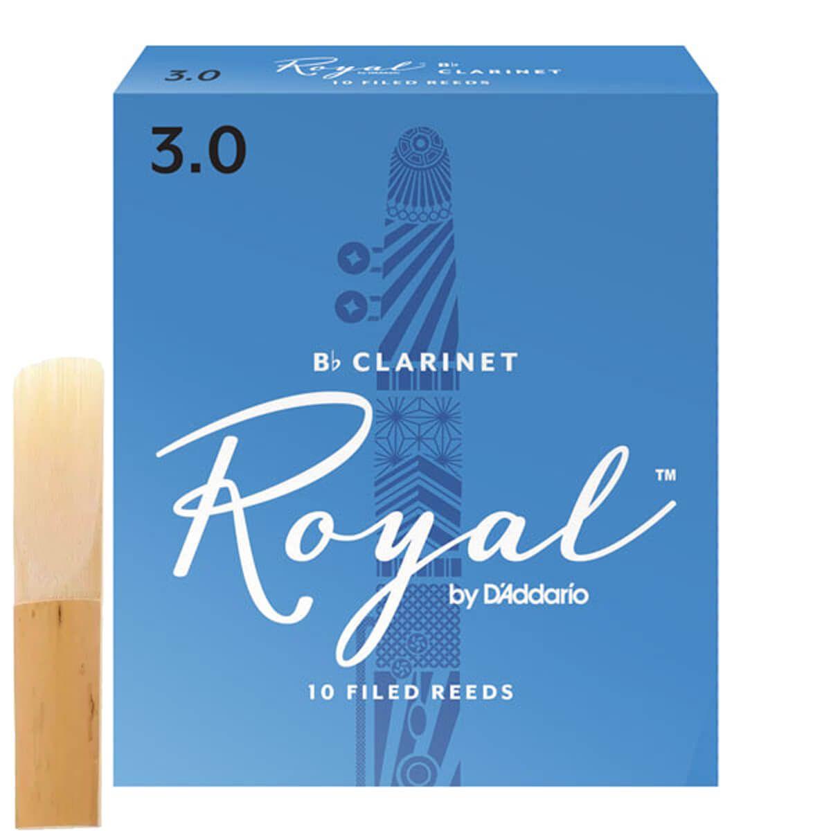 Palheta Para Clarinete - Rico Royal