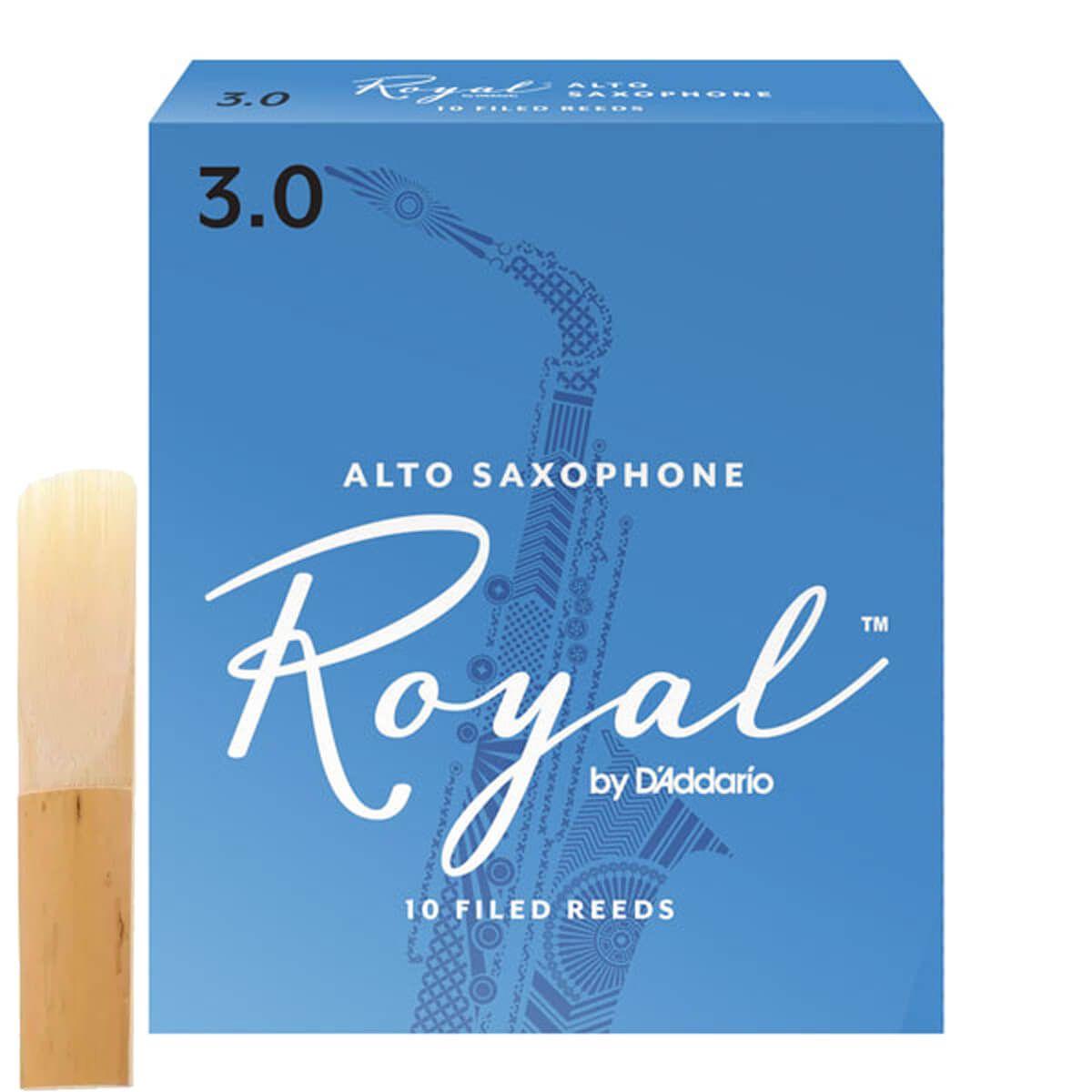 Palheta Para Sax Alto - Rico Royal
