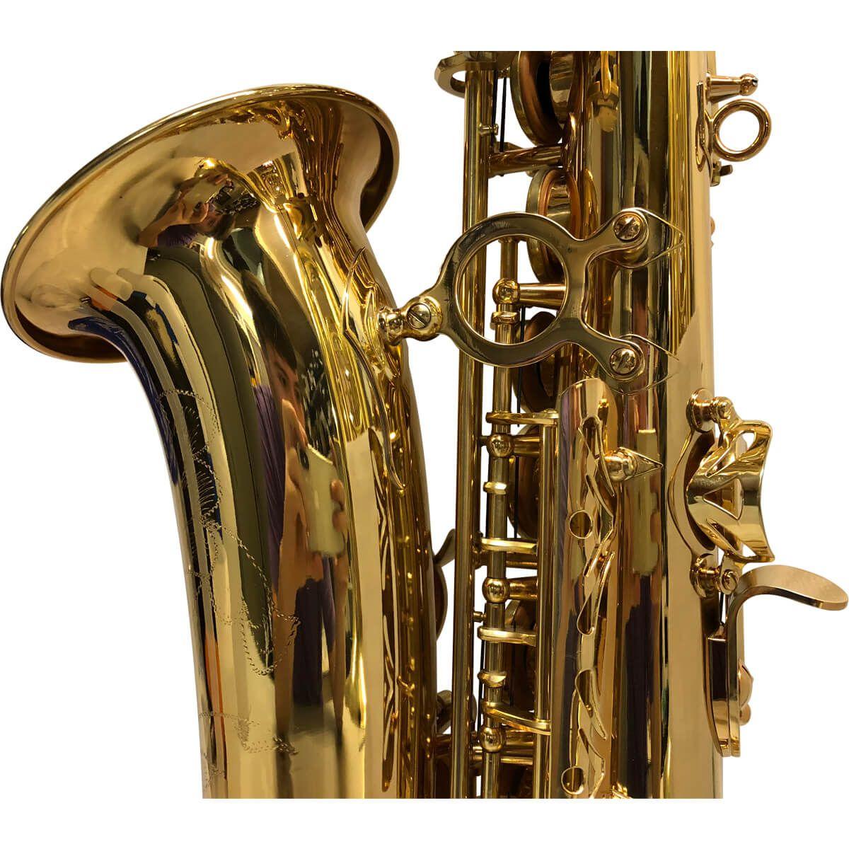 Sax Alto - Dourado - Pas-454 - Premier