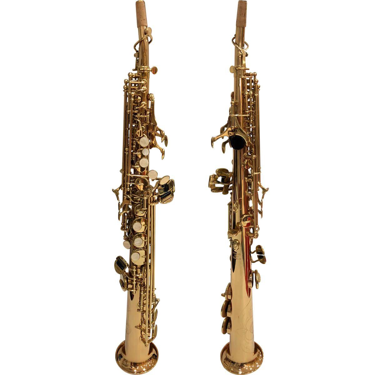 Sax Soprano - Dourado - Pss-861 - Premier