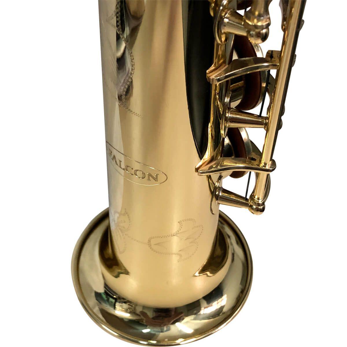 Sax Soprano - Laqueado - Fss-21 - Falcon
