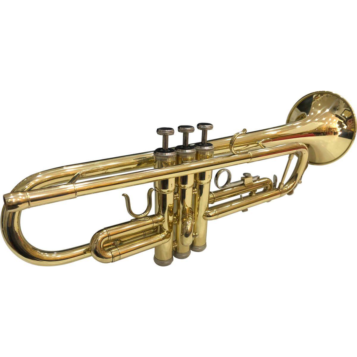 Trompete Sib - Jahnke - Laqueado